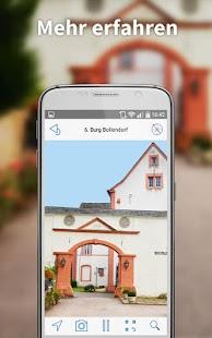 The Lauschtour-App - náhled