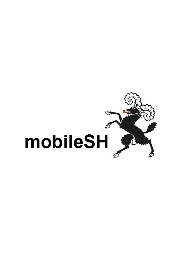mobileSH- screenshot