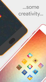 Talitha Square - Oreo Adaptive Icon Pack - náhled
