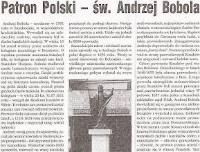 """Photo: Artykuł prasowy """"Nasza Polska"""", 2112 r. (fragment)"""