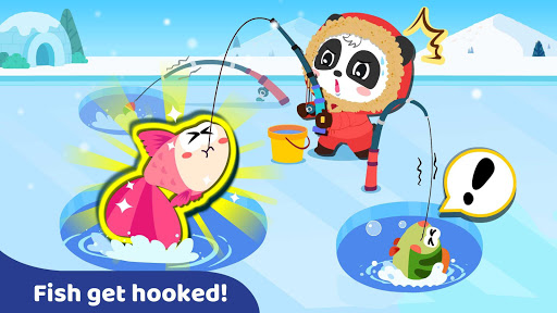 Baby Panda: Fishing apktram screenshots 14