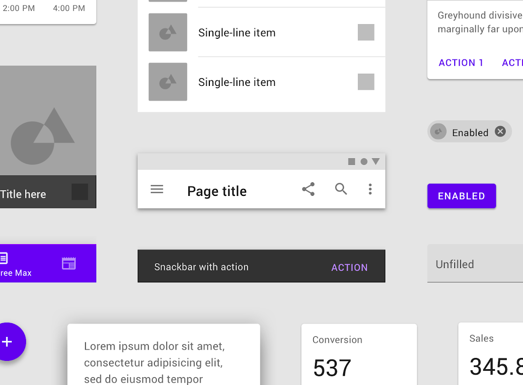 Introduction Material Design