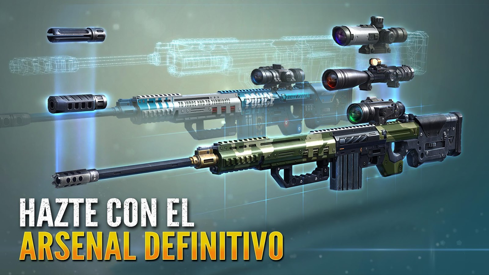 Sniper Fury: ¡Dispara tu Arma!: captura de display