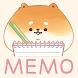 待受にMEMO「いーすとけん。」可愛いメモ帳ウィジェット無料 - Androidアプリ