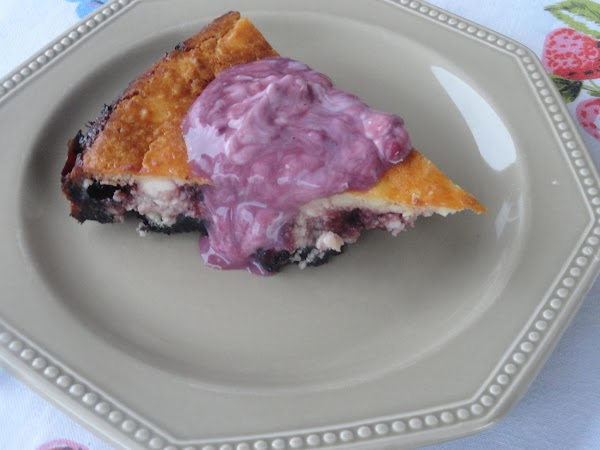 Oreo Blackberry Swirl Cheesecake Recipe