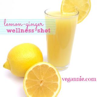 Lemon-Ginger Wellness Shot.