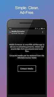 Media Extractor for ppt & doc Screenshot