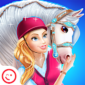 Princess Horse Caring icon