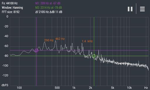 Advanced Spectrum Analyzer PRO 2.1 6