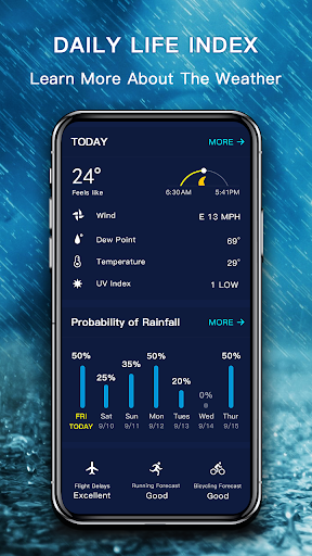 Weather - The Most Accurate Weather App 1.1.6 Screenshots 9
