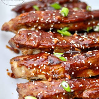 Chinese Style Spare Ribs.
