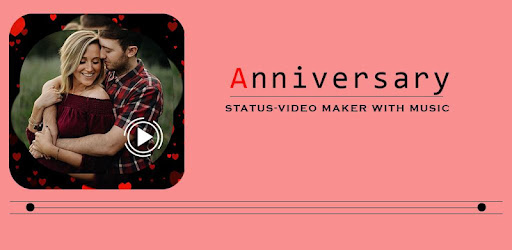 anniversary status-video maker with music has something new concept .