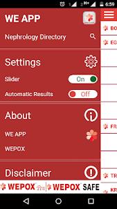 WE APP screenshot 1