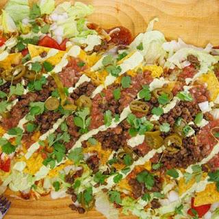 Nacho Average Taco Salad.