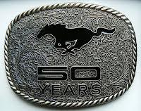 Bältesspänne Ford Mustang 50 Years