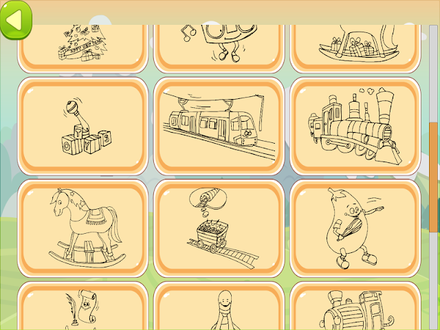 android Train Coloring Book Screenshot 14