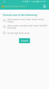 ответы на экзамен по servsafe