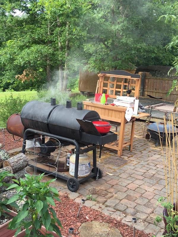 "Use ""lighter"" hardwoods like alder, maple, fruit and nut-bearing woods for smoking ""lighter"" meats..."