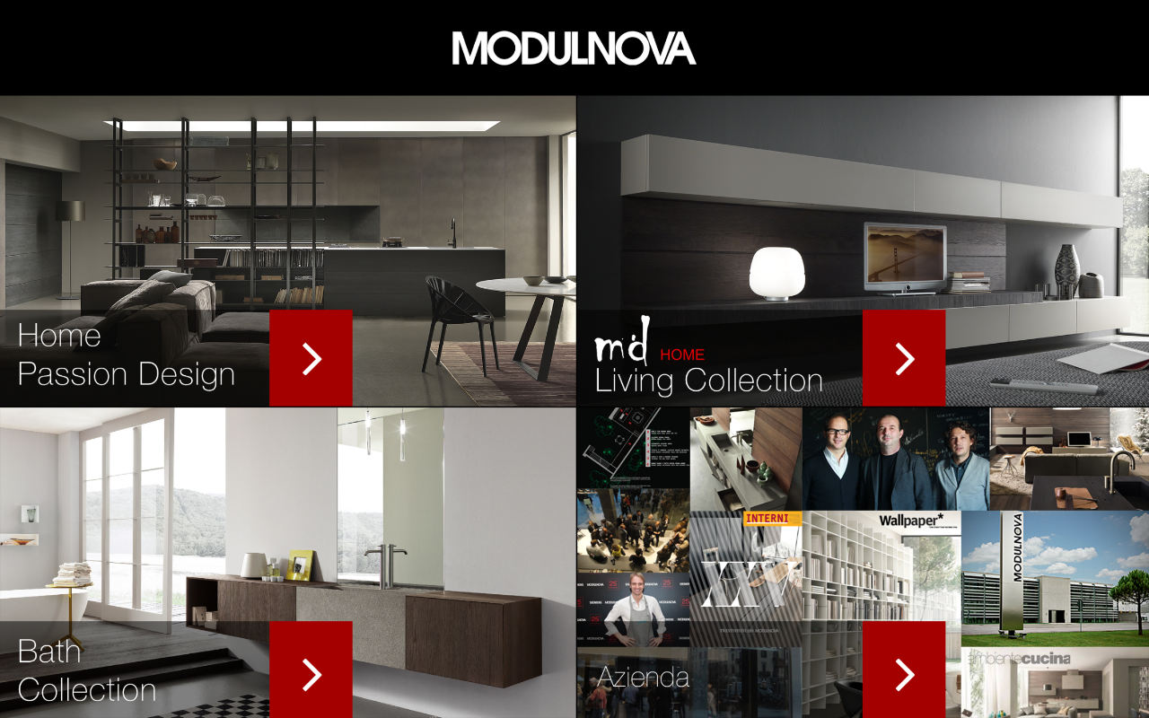 Modulnova catalogo- screenshot
