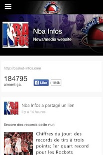 Basket Infos- screenshot thumbnail