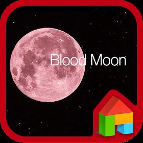 Blood Moon LINE Launcher theme