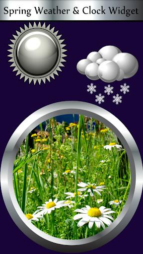 春天天氣&時鐘部件