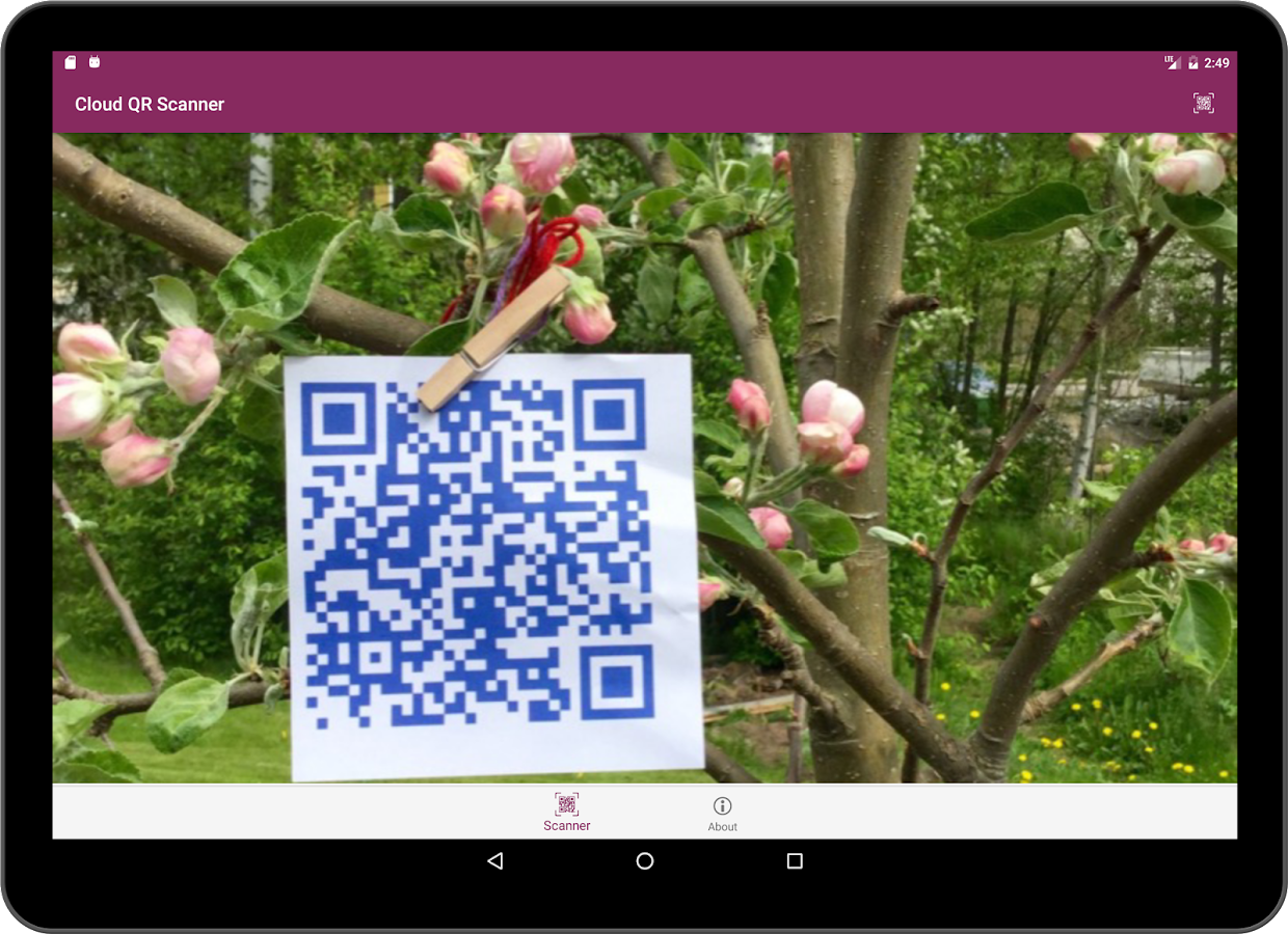 Cloud QR- screenshot