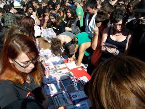 Photo: Mesa deafiliación al Sindicato en la Puerta del Sol de Madrid