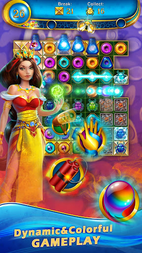 Lost Jewels - Match 3 Puzzle apkpoly screenshots 1