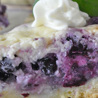 Blueberry Cream Cake Recipes