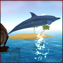 Dolphin game 3D icon