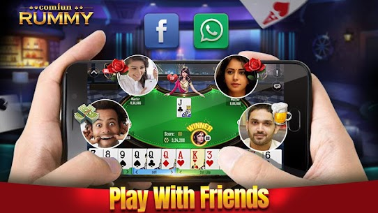 Indian Online Rummy Comfun-13 Card Rummy Game Online App Download For Android 4
