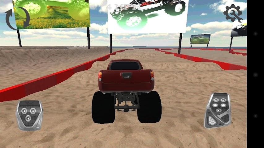 android Monster Truck Drifter Screenshot 2