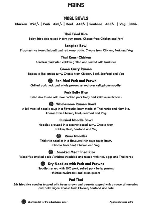 Siam Trading Company menu 13