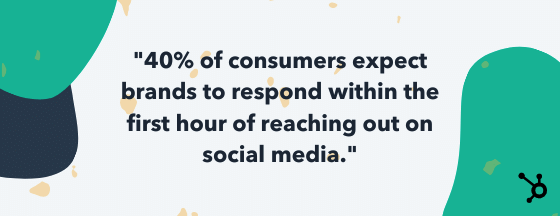 social media customer service statistic for service reps to know
