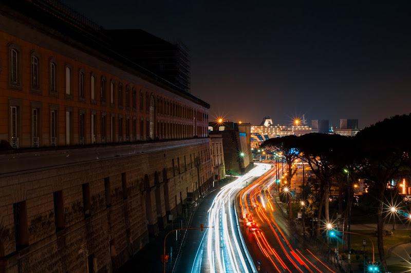 Palazzo reale illuminato in parallelo di Saldios