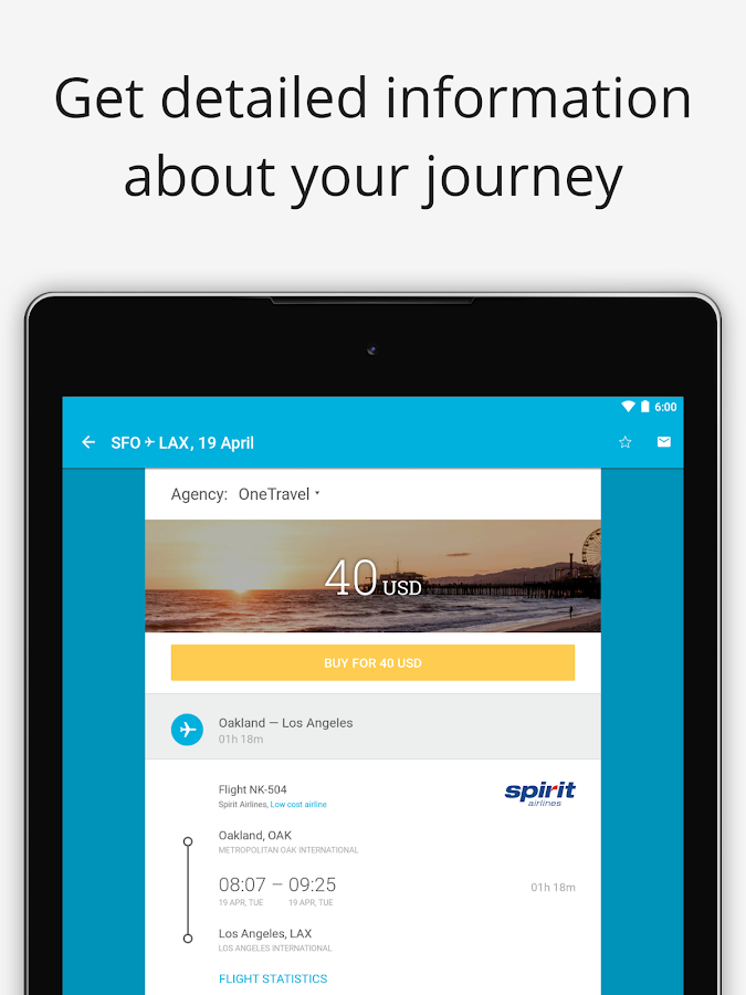 Cheap flights — Jetradar- screenshot