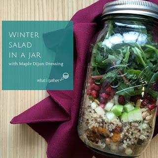 Winter Salad in a Jar