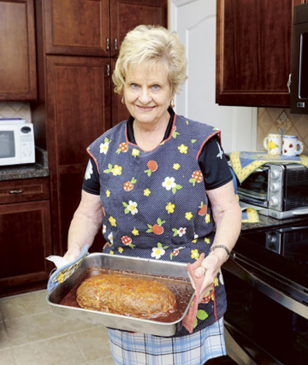 Meatloaf With A Tomato Beef Sauce Recipe