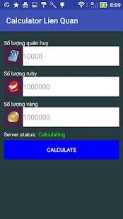 Download Full Quan Huy Lien Quan Mobile Calculator 1.2 APK