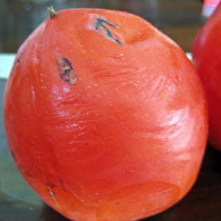 Persimmon Cake with a Citrus Glaze