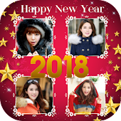 2018 New year collage