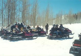 Photo: Snowmobile Gymkhana Picnic Area, Utah