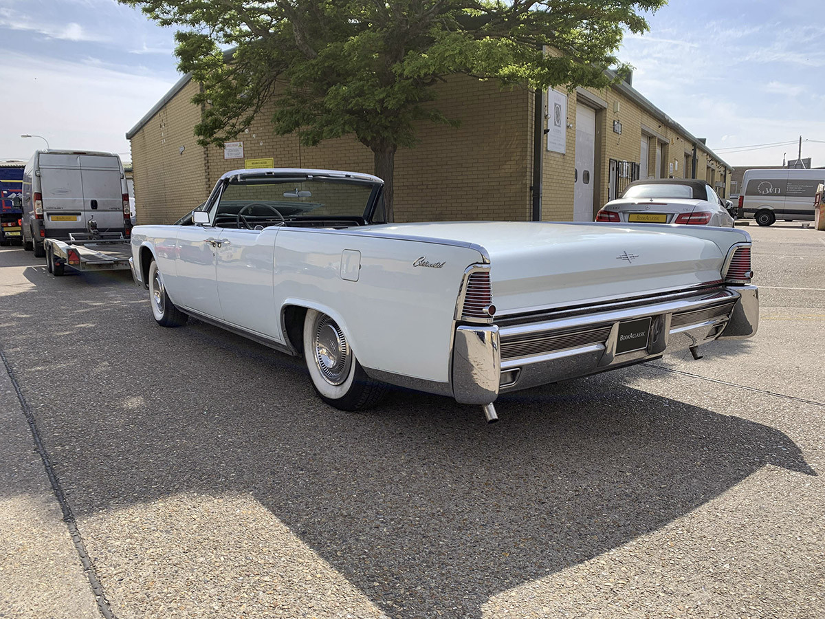 Lincoln Continental Convertible Hire Swansea
