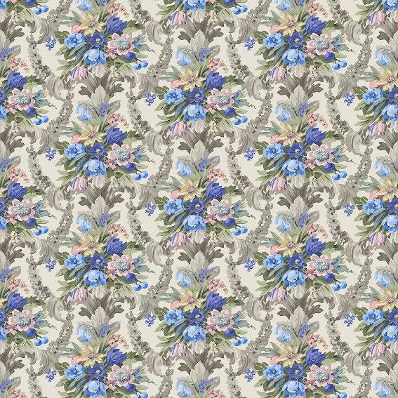 Wakehurst Velvet av Linwood - pastel