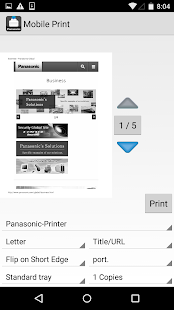 Mobile Print- screenshot thumbnail