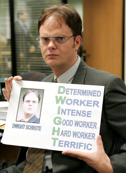 Dwight Schrute Sales Tips