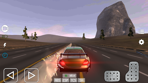 Extreme Car Simulator 2019  captures d'écran 2