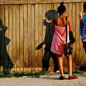 the ghost !!!!!! by Argirios Kostaras - People Street & Candids (  )