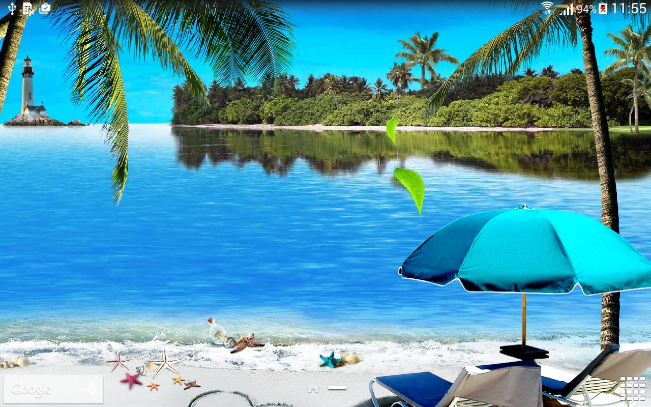 Beach Live Wallpaper Screenshot